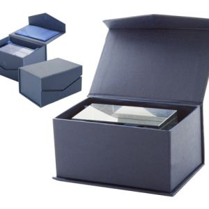 Ideal pentru gravura 3D Ambalat in cutie magnetica albastra cadou Lexington personalizate