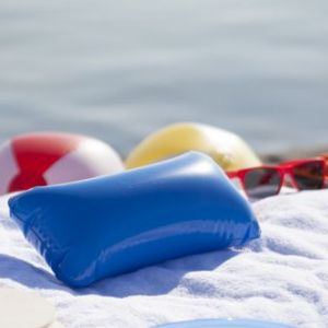 Perna de plaja gonflabila Cancun personalizata