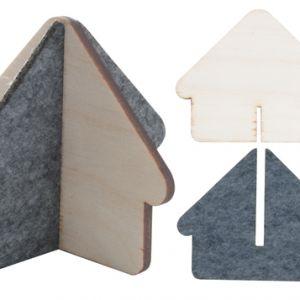 Mini casa din lemn Hutty personalizata