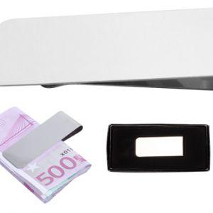 Clama bancnote cromata Mercur personalizata