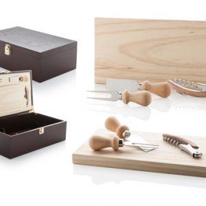 Set accesorii vin si branzeturi Beaufort personalizat