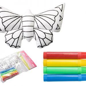 Jucarie 3D Fluturas Dranimal pentru colorat personalizata