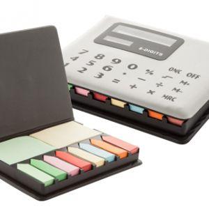Suport adeziv notes cu calculator Remarks personalizat