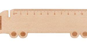 Rigle din lemn Looney personalizate